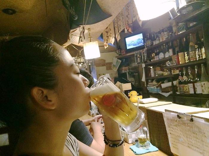 二万八千石,那覇,栄町,焼鳥,ビール