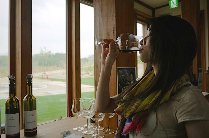 余市,Occigabi Winery,オチガビ,ワイナリー,ワイン,レストラン,ランチ,試飲