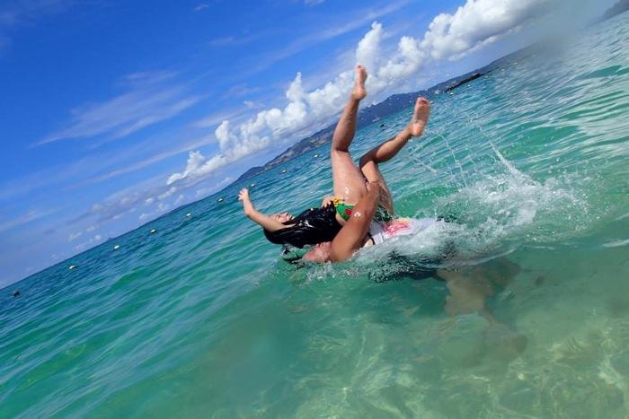 沖縄,恩納村,ミッションビーチ,BBQ,ビーチパーティー