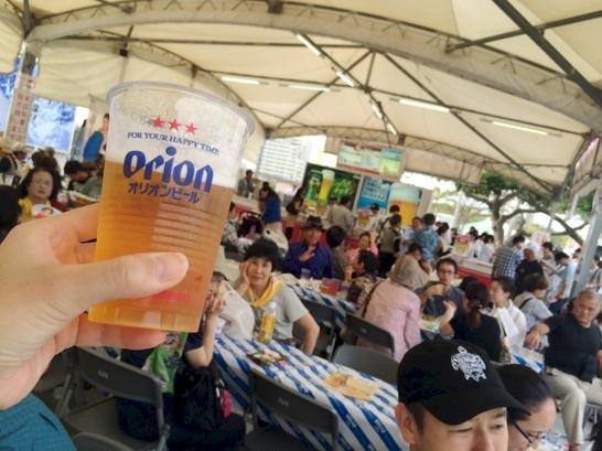 沖縄の産業祭り,琉球ペールエール,オリオン