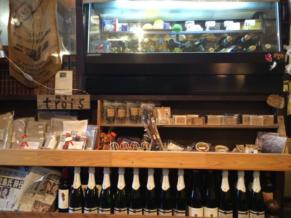 那覇・久茂地「グリーンパークカフェ(Green Park Cafe)」店内で売られている小物類