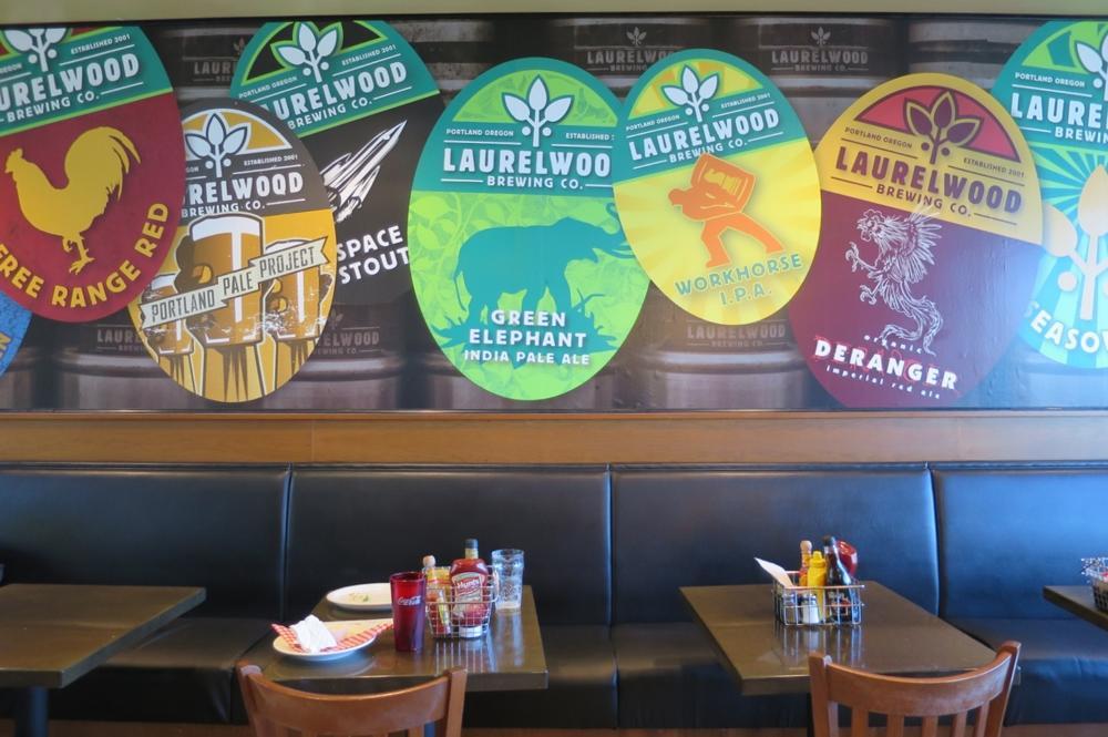 Laurelwood Brewing,ローレルウッドブルーイング,ポートランド空港,オレゴン州