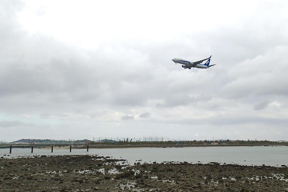 沖縄,那覇空港,瀬長島,飛行機