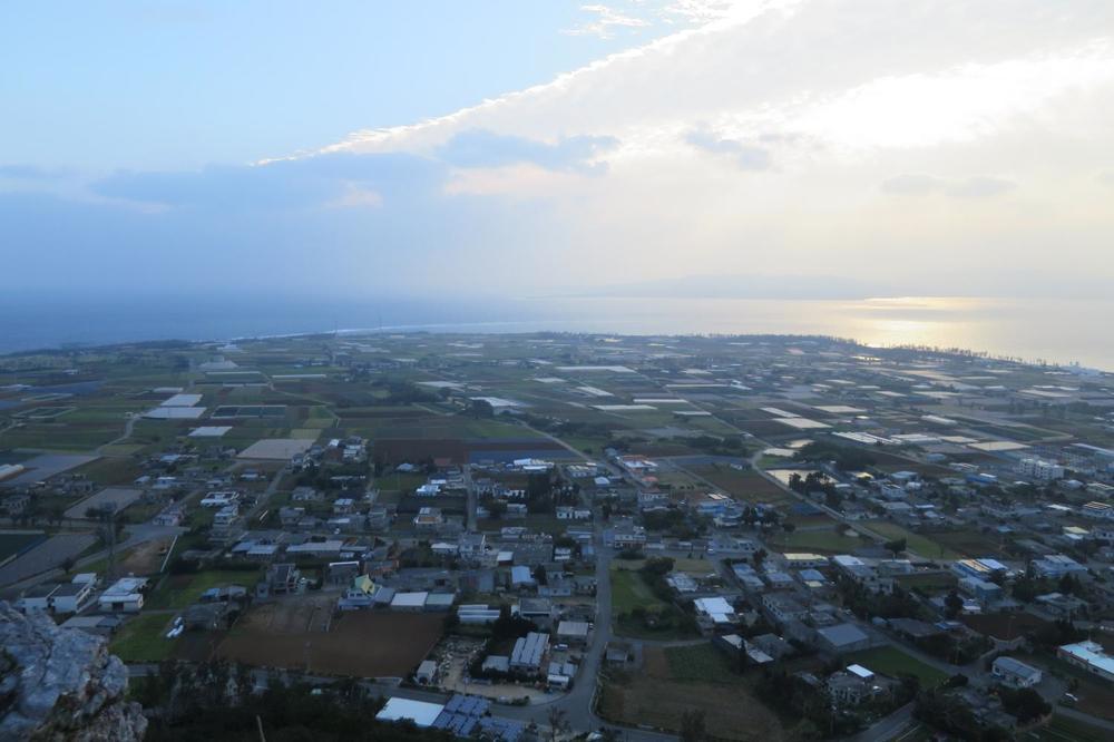 城山,伊江島,タッチュー,登山