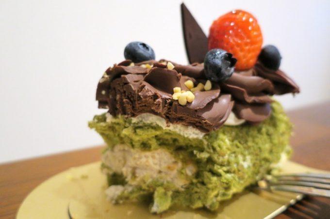 バレンタイン用ケーキもOZらしい和テイストが光るおいしさ!生チョコもウマい!