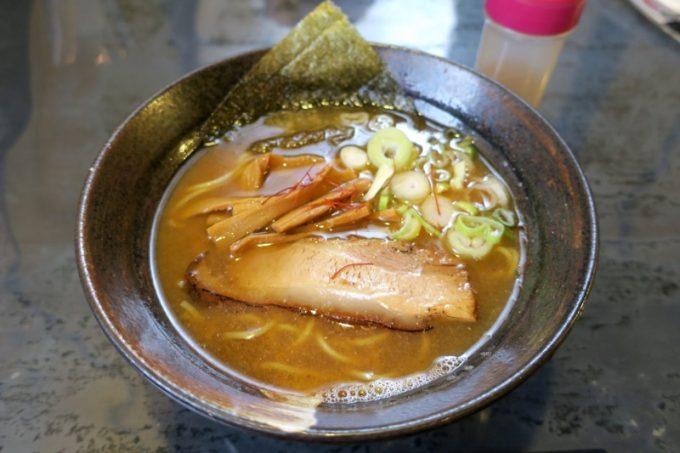 浦添「花銀琉」の月感謝祭500円ラーメン(醤油)