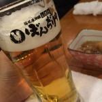 ぼんぢりや,那覇,久米,100円ビール