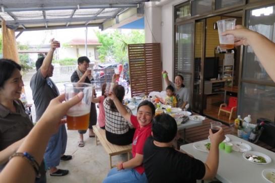 ガレージBBQ,GW,沖縄在住,ウチナンチュ