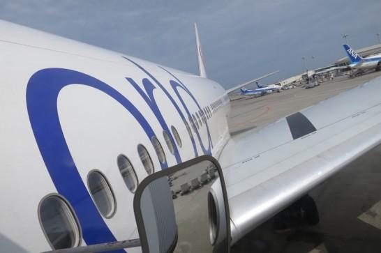那覇空港,羽田行き,JAL902便