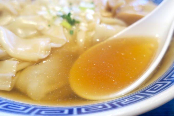 透き通ったあっさり系スープ