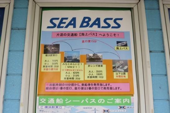 シーバス,横浜,山下公園