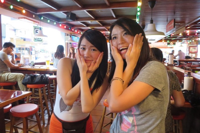 Hooters,フーターズ,台湾,台北,キャンポーズ