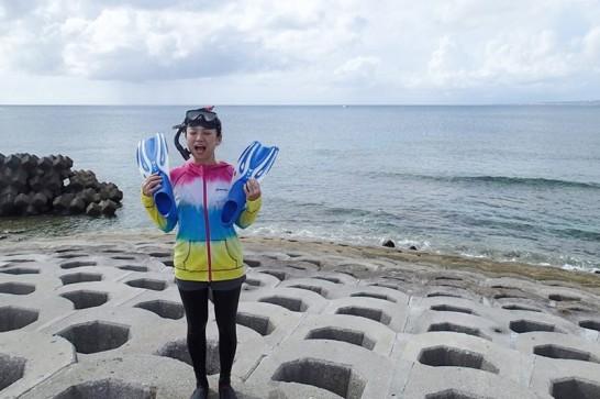 沖縄マリンスポーツにはラッシュガード!