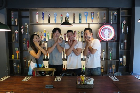Corner Office,コーナーオフィス,台湾,台北,ビアバー,キャンポーズ