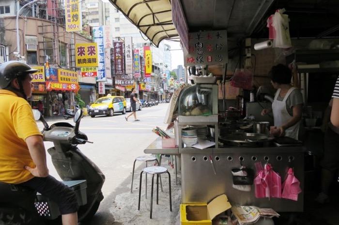 ナイトマーケット,台北,遼寧夜市,朝ごはん