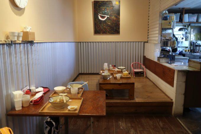 那覇・首里「てぃしらじそば」は2020年に店内を改装した