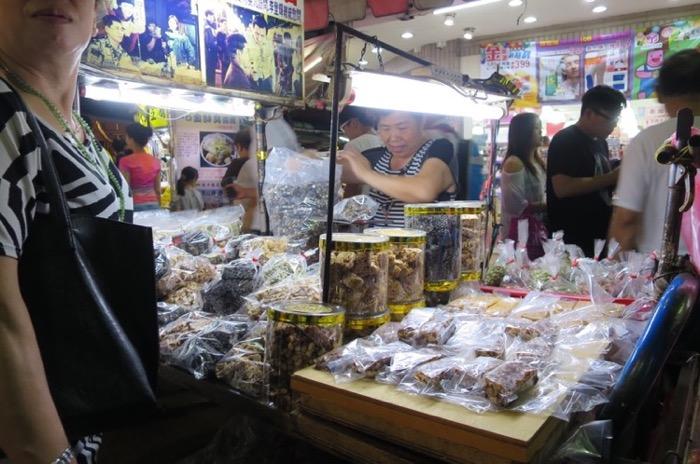 通化夜市,台北,台湾,ナイトマーケットト
