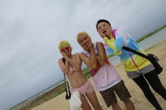 ビーチパーティー,トロピカルビーチ,宜野湾,キャンポーズ