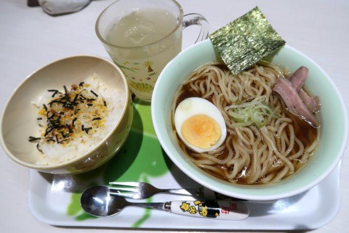 那覇・前島「麺や 堂幻」お子様ラーメン(480円)