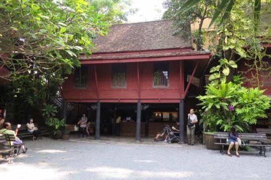 ジム・トンプソンの家,シルク,タイ,バンコク