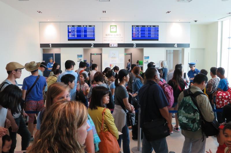 那覇空港国際線ターミナル,香港航空,トランスファー,乗り継ぎ,香港国際空港,85