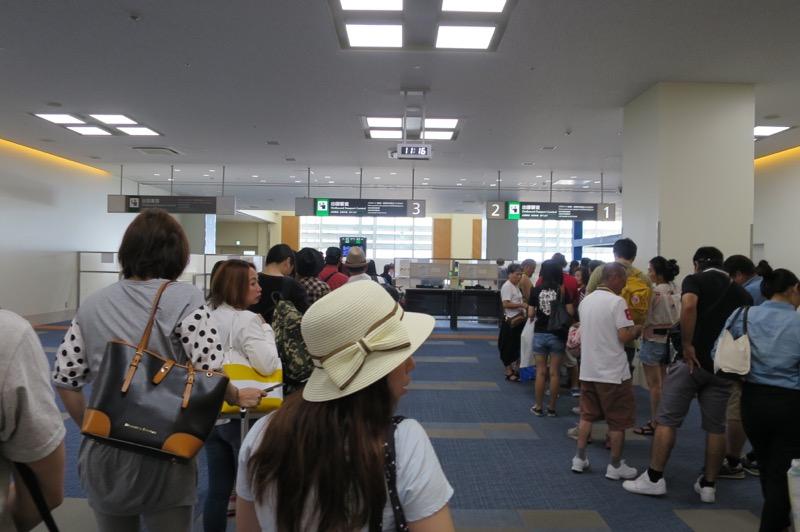 那覇空港国際線ターミナル,香港航空,トランスファー,乗り継ぎ,香港国際空港,89