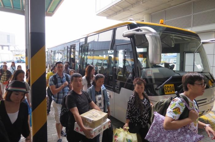 那覇空港国際線ターミナル,香港航空,トランスファー,乗り継ぎ,香港国際空港,23
