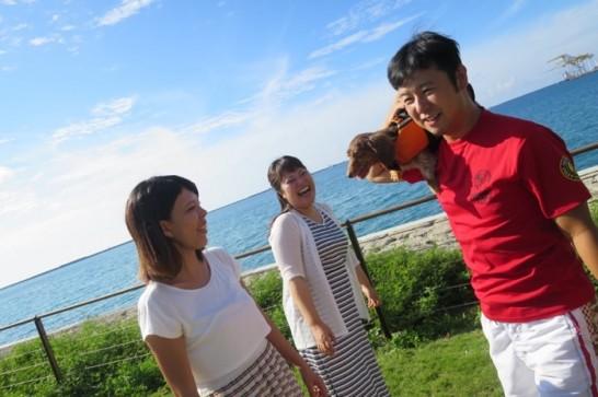 波の上ビーチ,波の上うみそら公園,ビーチパーティー,BBQ,ペット同伴,7834