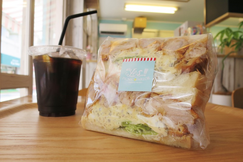 Yes!!!PICNIC PARLOR,イエス!!!ピクニックパーラー,サンドイッチ,安謝,那覇