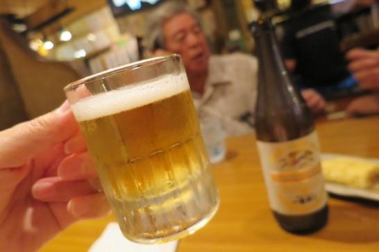 ゆうづき,浦添,居酒屋,ビール