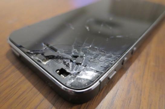 iPhone5sが、割れPhoneに・・・