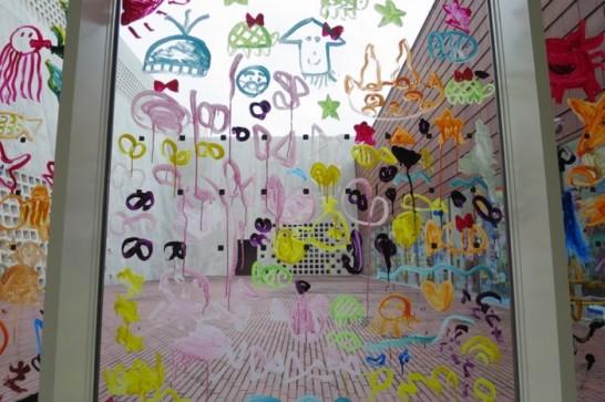沖縄県立博物館・美術館のこども達の絵