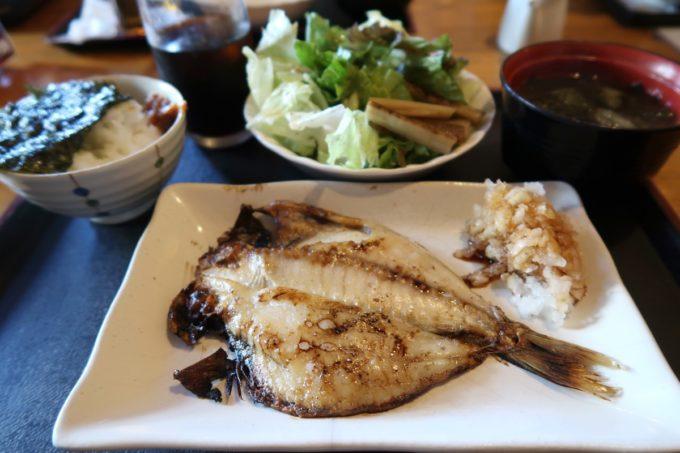 那覇・久米「風林火山」で食べたえぼ鯛ランチ(730円)