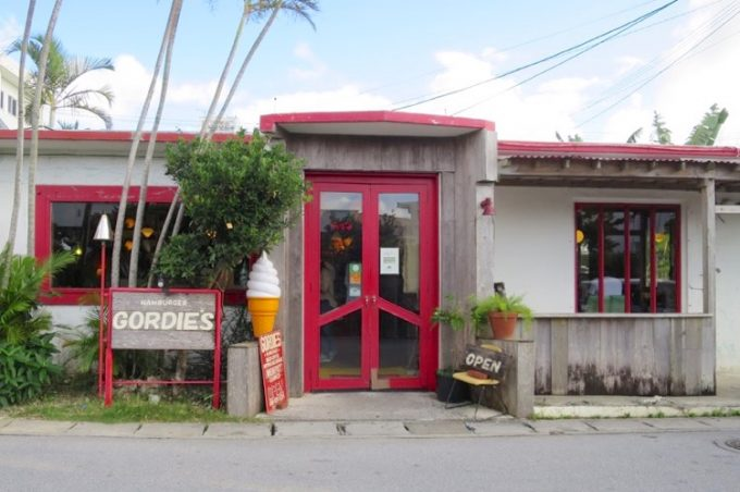 GORDIE'S,ゴーディーズ,ハンバーガー,北谷