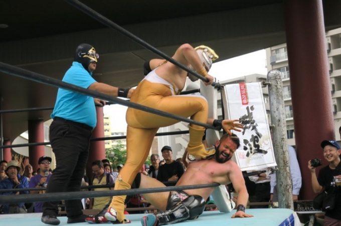 2016,ハイサイちゃんぷる~ビアフェスティバル,琉球ドラゴンプロレスリング