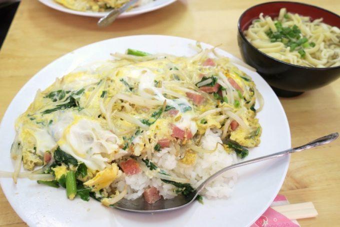 いっちゃん食堂のチャンポン(400円)