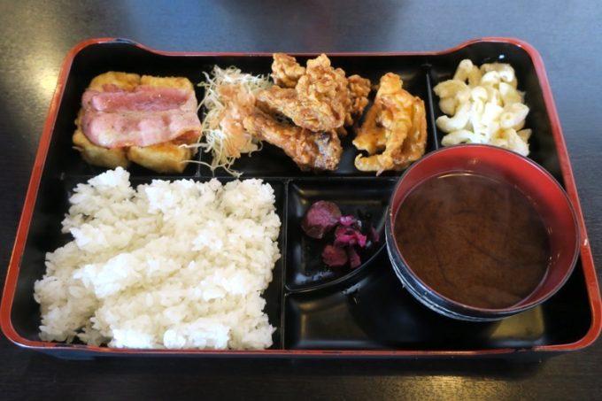 軽食の店ルビー 宜野湾店のルビー定食(580円)