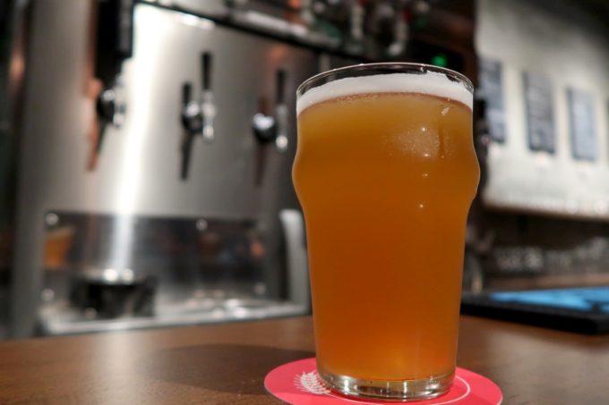 那覇・牧志「Beer bar Felt(フェルト)」志賀高原ビールの一切皆苦(ハーフ900円)