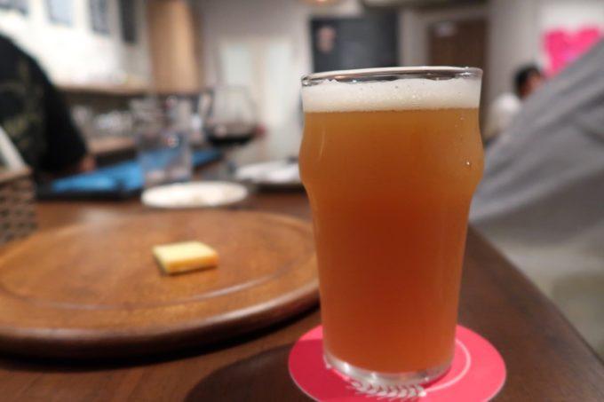 那覇・牧志「Beer bar Felt(フェルト)」志賀高原ビールのスノーモンキーIPA フジロック ver 2019(ハーフ、850円)
