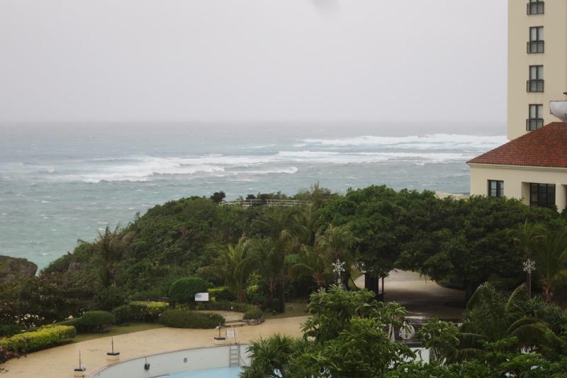ホテル日航アリビラ,沖縄,リゾートホテル,スーペリアツイン,部屋からの眺め