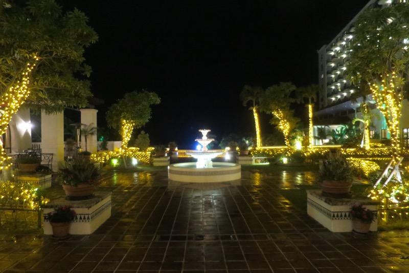 ホテル日航アリビラ,沖縄,リゾートホテル,イルミネーション