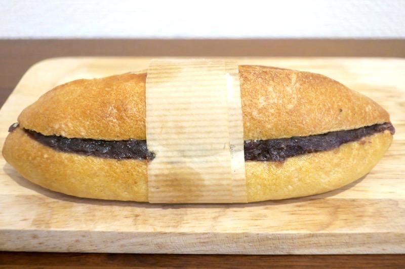 那覇市天久「ル・キュイップ(Le Cuip)」のあんバター(180円)