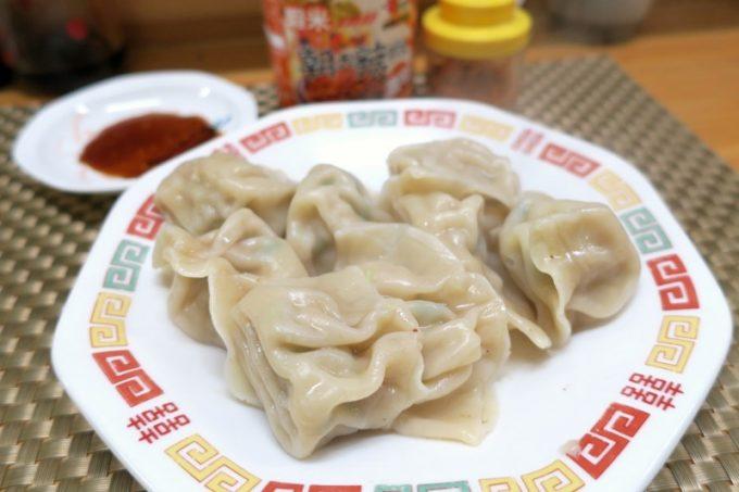「楊の店」の水餃子(500円)