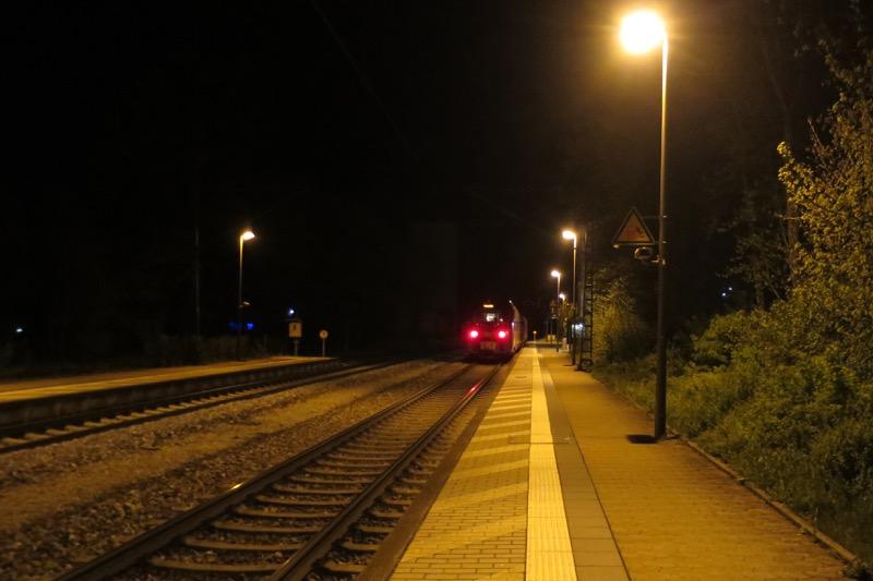 ドイツ,フランクフルト,ラーバー村乗り換え