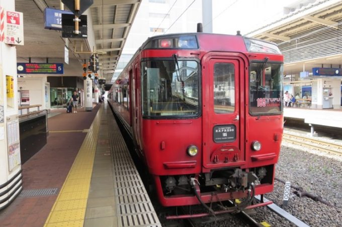 博多,湯布院,JR,特急ゆふ71号,電車