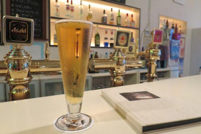 「BEER PARA DINING(ビアパラダイニング)」でノンアルコールビール(600円)をいただきます