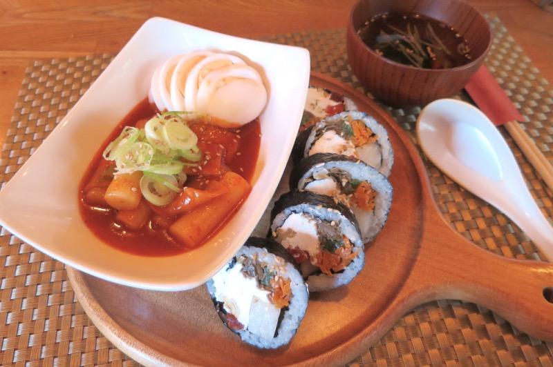 ウマゴン,韓国料理,那覇,松山,キンパ