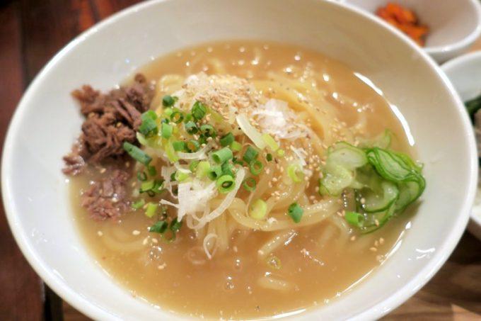「ちるり(Chillri)」の冷麺アップ