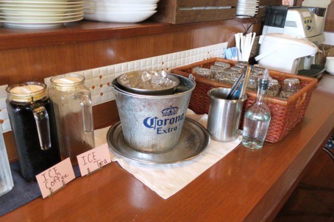 「僚屋DINING」ランチドリンクはセルフサービス