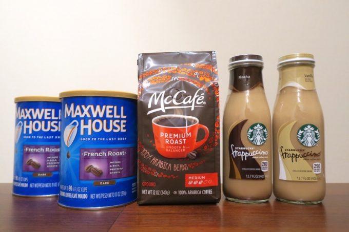 2017年の戦利品は、コーヒーばかりになってしまった。